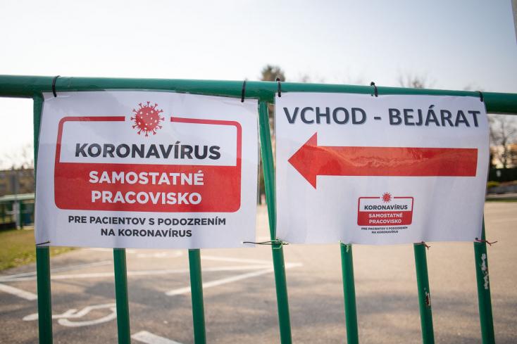 36 fertőzöttet találtak szerdán a Dunaszerdahelyi járásban, az Érsekújváriban közel 60-at