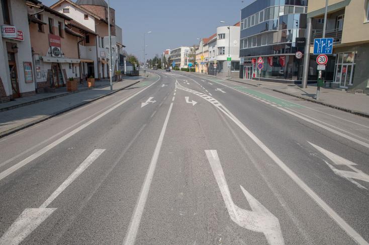 Egy napra lezárják a dunaszerdahelyi Fő utcát a környezetbarát közlekedésért