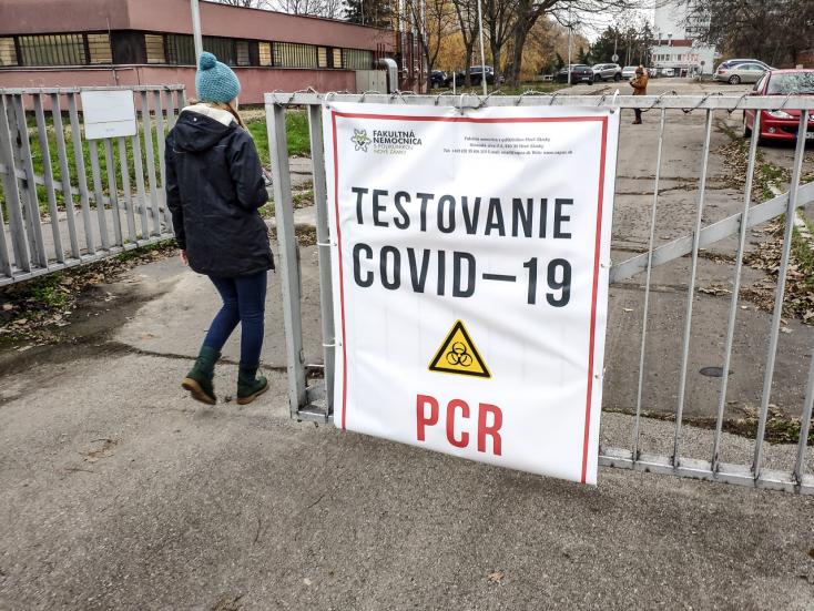Még mindig sok a pozitív PCR-teszt a Dunaszerdahelyi járásban