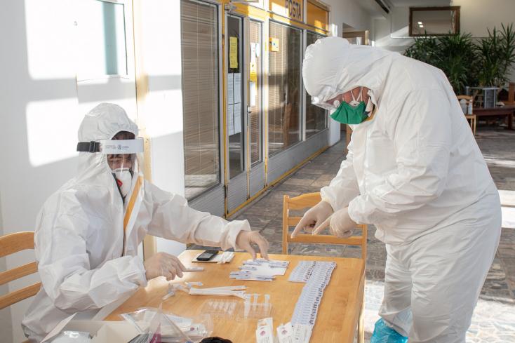 Koronavírus - 101 halott és kéthetes rekordon a PCR-pozitívak száma Szlovákiában!