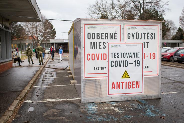 Munkába járáshoz mától Dunaszerdahelyen és Galántán is elég a 14 napnál nem régebbi negatív teszt