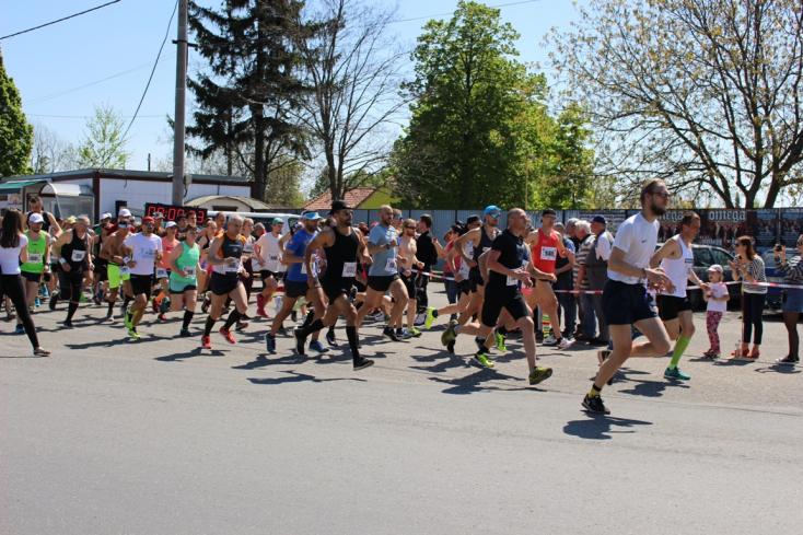 Új részvételi csúcs, 229 futó és kocogó Diósförgepatonyban