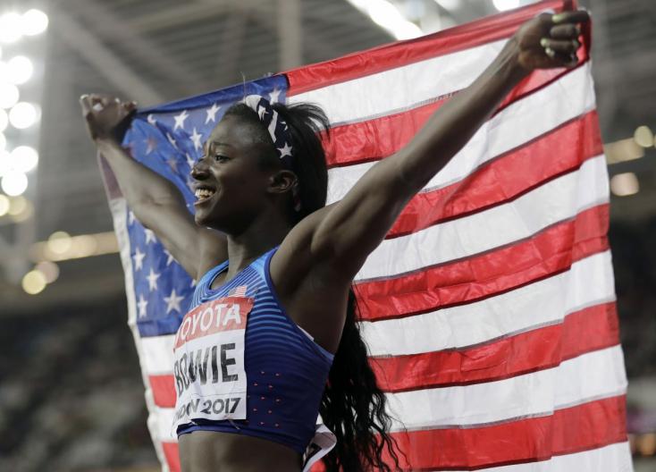 Atlétikai vb - Tori Bowie óriási hajrával győzött női 100 méteren!