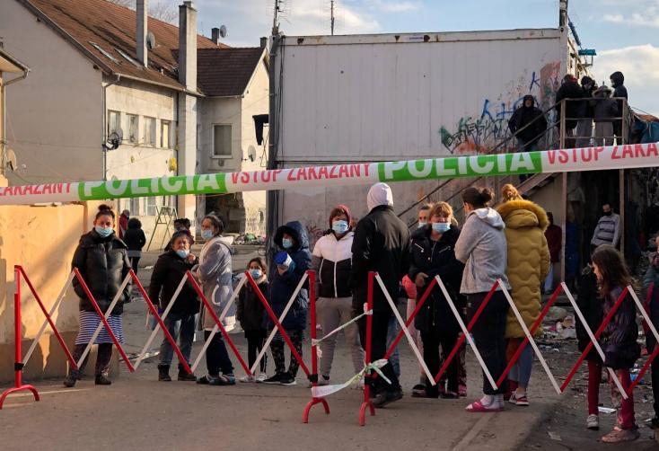 Hamarosan eldől, mi legyen a karcsai úti koronavírusos lakosokkal Dunaszerdahelyen