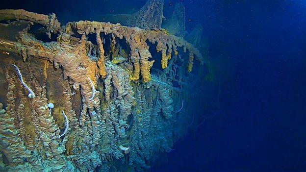 Így néz ki az Atlanti-óceán mélyén nyugvó Titanic roncsa a katasztrófa után 107 évvel (VIDEÓ)