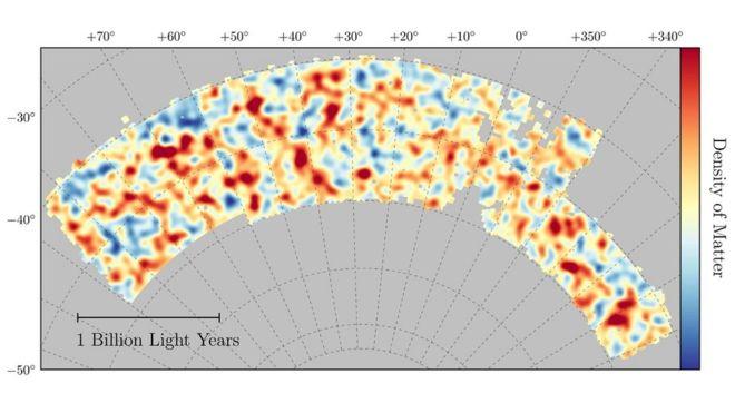 Elkészült az eddigi legpontosabb térkép az univerzumban lévő sötét anyagról