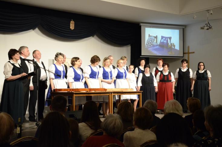 Budapesten vendégszerepeltek a nagyabonyi hagyományőrzők