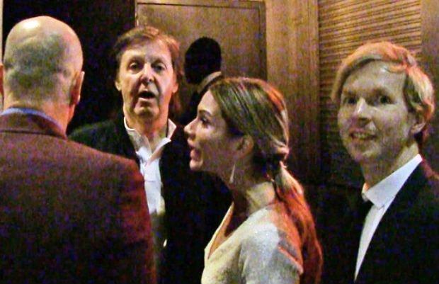 Paul McCartney-t  nem engedte be a Grammy-gála utáni buliba egy izomagyú bunkó