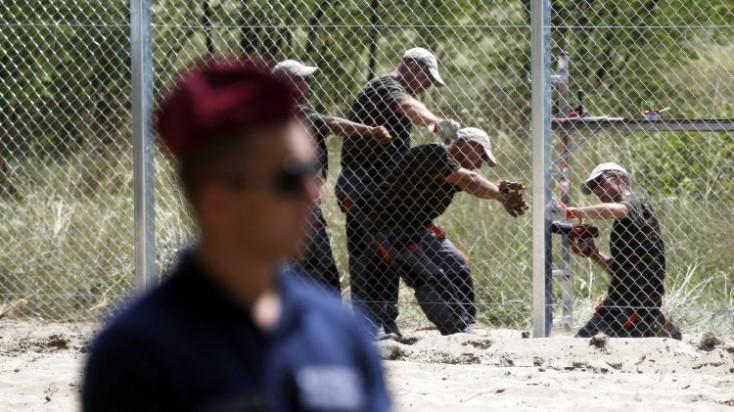Állóháború a menekültfronton