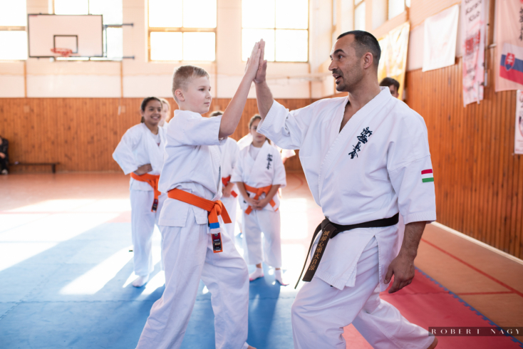 A legjobbaktól tanulhattak a Seishin Karate Klub növendékei