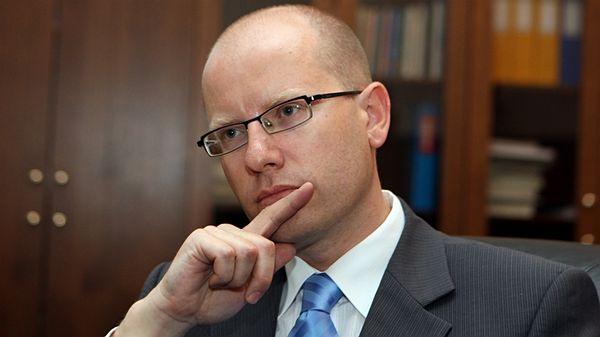 Lemondott a Bohuslav Sobotka vezette cseh kormány
