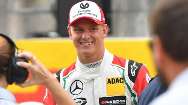 Schumacher fia idén is a Forma-3-ban versenyez