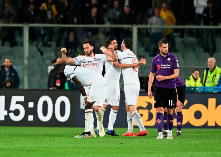 Serie A - Firenzei sikerével versenyben maradt a BL-ért a Milan