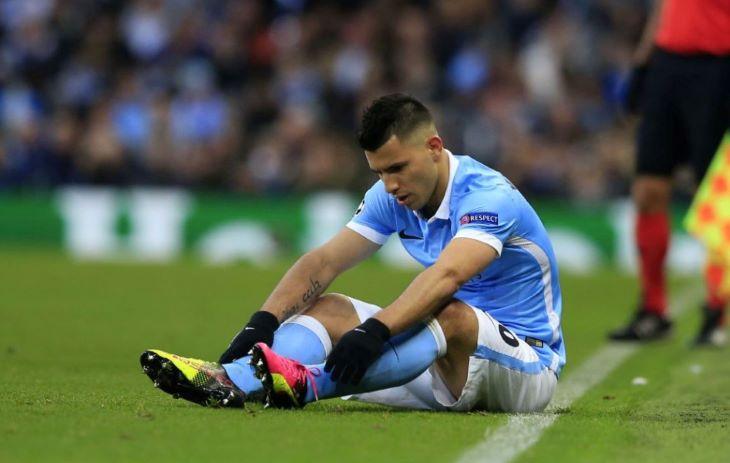 Agüeróra kettő-négy hétig nem számíthat a Manchester City