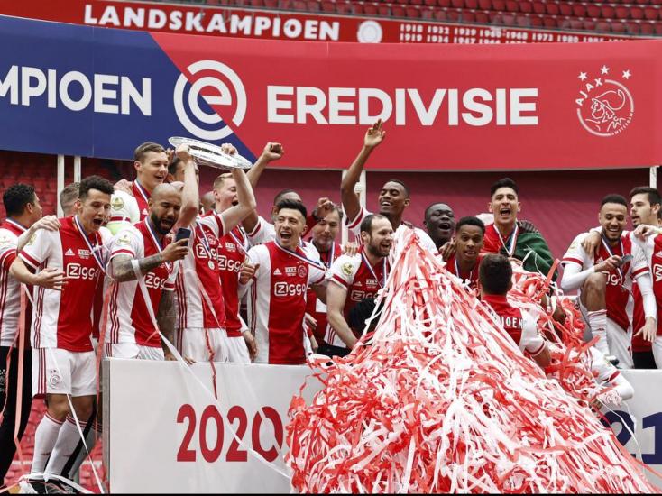Harmincötödször holland bajnok az Ajax