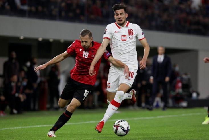 Vb-selejtezők - Tiranai győzelmükkel a lengyelek feljöttek a második helyre a magyar csoportban
