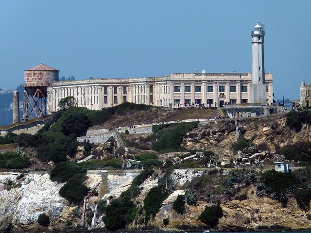 Polgárháborús katonai erődítmény maradványait találták meg az Alcatraz alatt