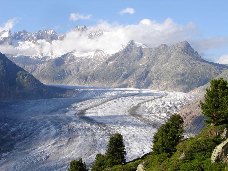A klímaváltozás az Alpok legtöbb gleccserjét fenyegeti