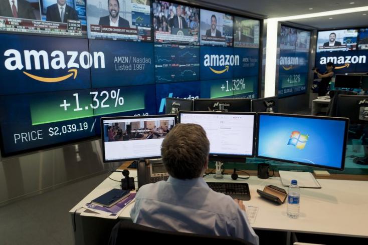 Az Amazon a világjárvány nagy nyertese, rekordnagyságúprofitot termelt az internetes cég