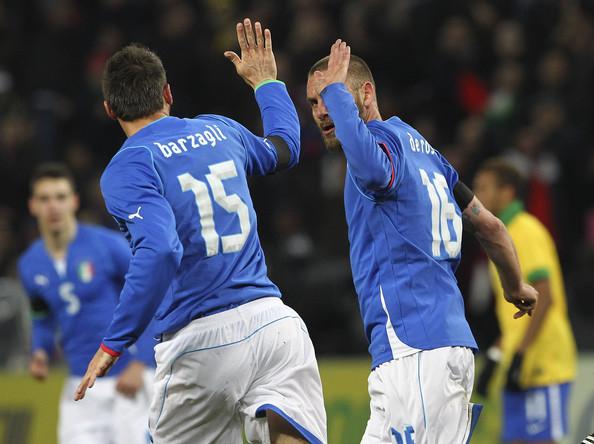 Vb-pótselejtezők - De Rossi és Barzagli és is búcsúzik