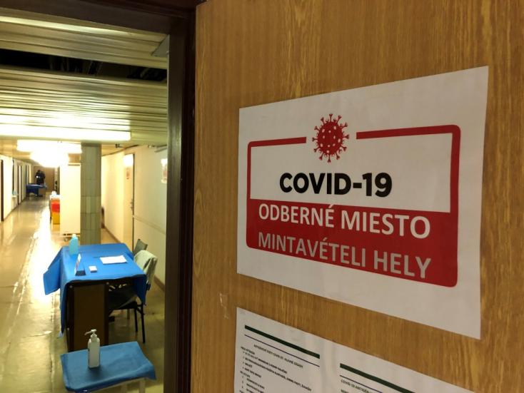 Koronavírus – Magas a pozitív antigén tesztek aránya Dunaszerdahelyen, Galántán feleakkora
