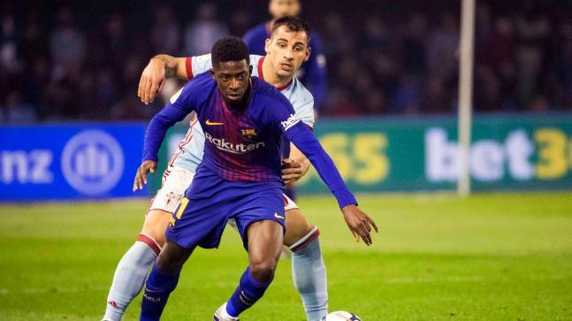 La Liga: Dembélé eltiltás miatt kihagyja az El Clásicót