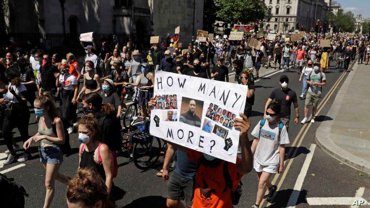 Világszerte több országban tartottak tiltakozó akciókat a rendőri túlkapások ellen