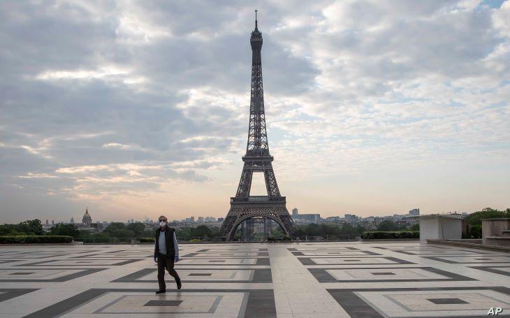 Franciaországban megkezdődött a koronavírus-járvány negyedik hulláma