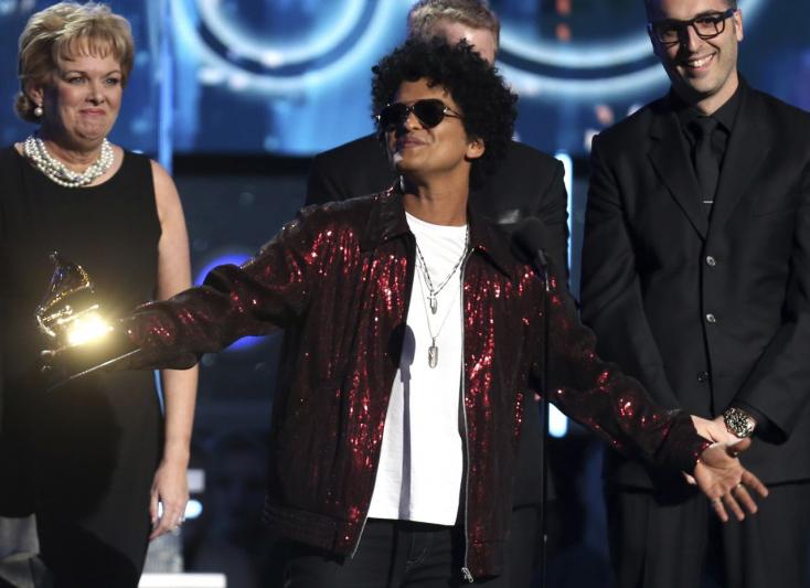GRAMMY: Bruno Mars és Kendrick Lamar is tarolt!