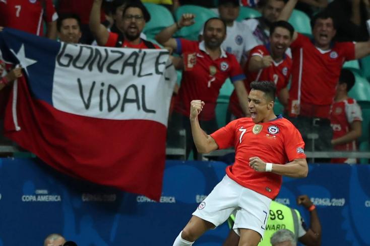 Copa América - Chile nyert és negyeddöntős (Videó)