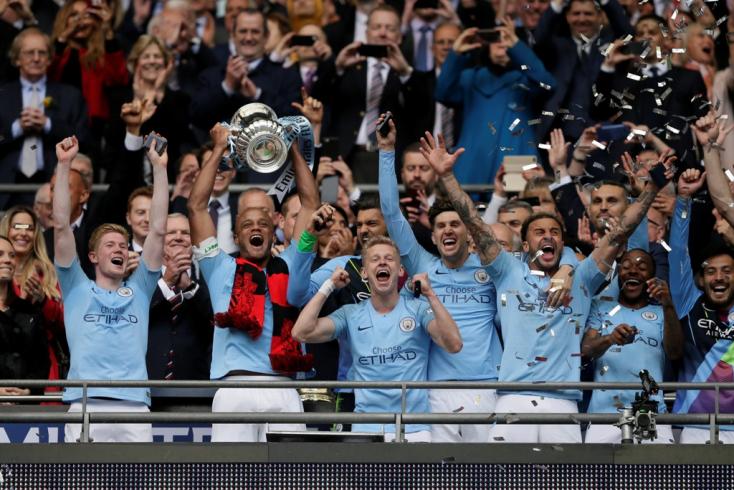 FA Kupa - A Manchester City az első triplázó angol csapat