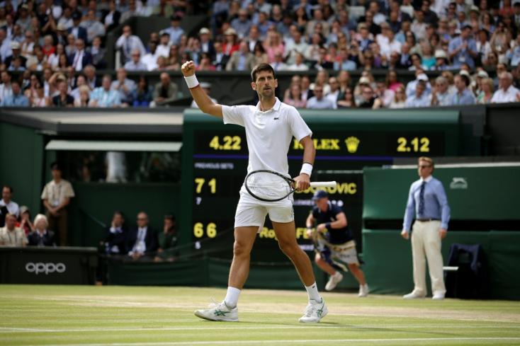Wimbledon - Djokovic megvédve címét ötödször bajnok
