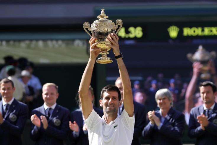 Wimbledon: Djokovic a férfi bajnok
