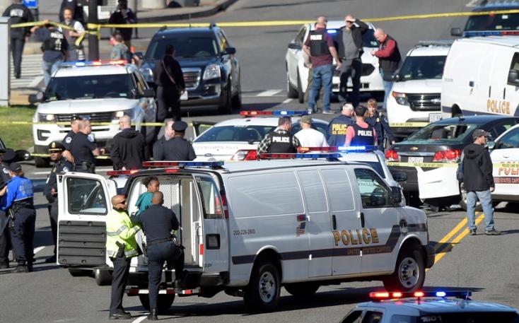 Ámokfutás és lövések a washingtoni Capitoliumnál!