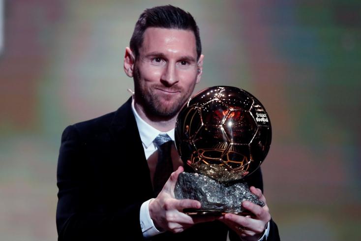 Lionel Messi megkapta hatodik Aranylabdáját