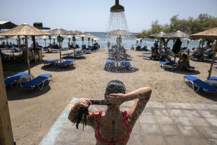Brutális hőség sújtja Görögországot, bőven 40 fok fölé emelkedik a hőmérséklet