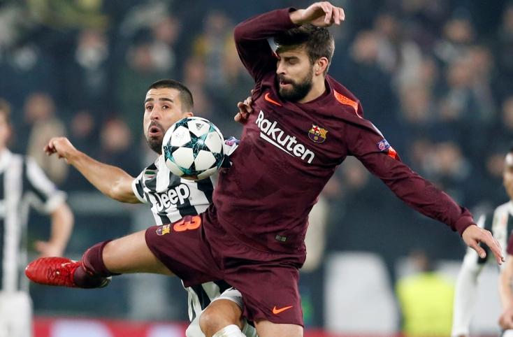 Bajnokok Ligája - Nyolcaddöntőben a Barcelona, Svájcban vérzett el a Manchester United