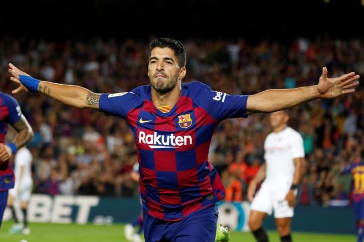 Luis Suárez négy hónapig nem játszhat