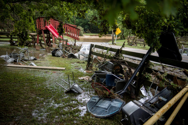 Katasztrofális áradások voltak az USA-ban, tucatnyian meghaltak és jóval többen eltűntek