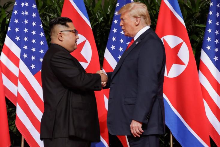 Trump szerint erős, jópofa és okos ember az észak-koreai vezető