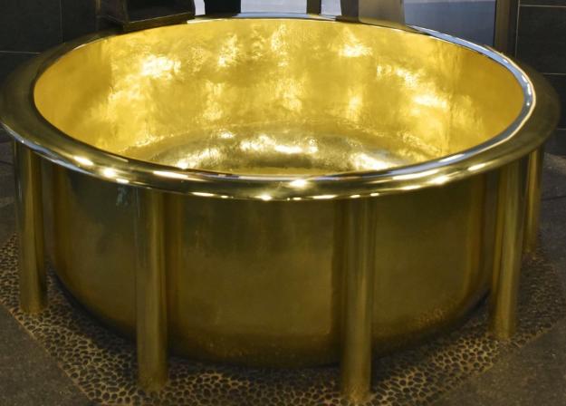 18 karátos fürdőkádat ismert el a Guinness Világrekordok