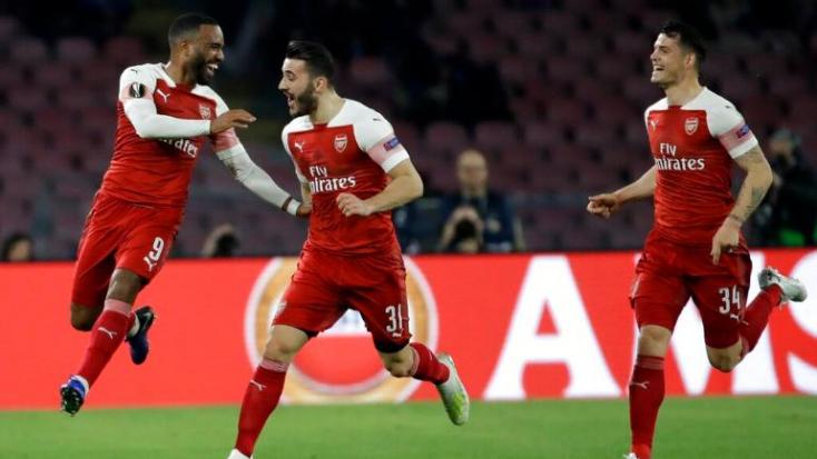 Európa-liga - Frankfurti győzelemmel rajtolt az Arsenal