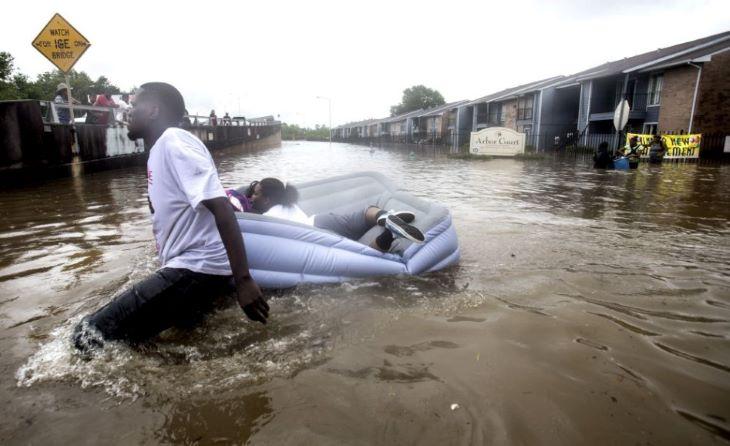 A természeti katasztrófák többségét a klímaváltozás okozza