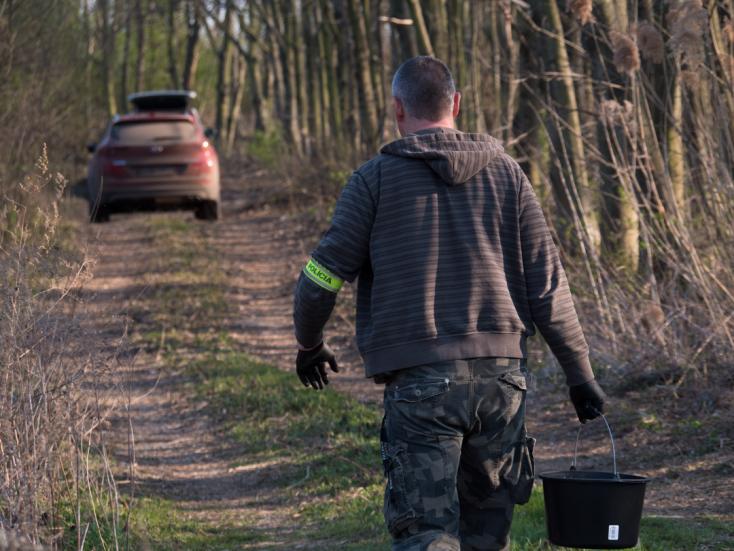 A NAKA folyamatosan holttesteket keres Dunaszerdahely környékén