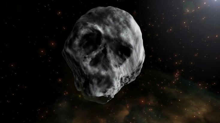 Hatalmas halálfej közelíti meg a Földet