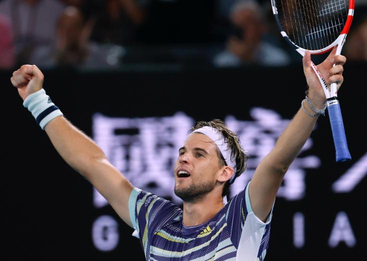 Australian Open - Thiem legyőzte a világelső Nadalt