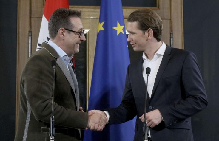 """""""Az osztrák koalíció felteszi a koronát az európai szélsőjobb sikeres évére"""""""