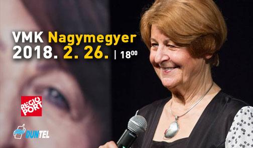 """""""Akarsz-e és tudsz-e boldog lenni?"""" - Prof. Dr. Bagdy Emőke előadása Nagymegyeren!"""