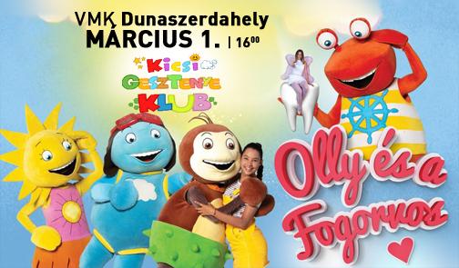Kicsi Gesztenye Klub - Olly és a Fogorvos - Dunaszerdahelyen