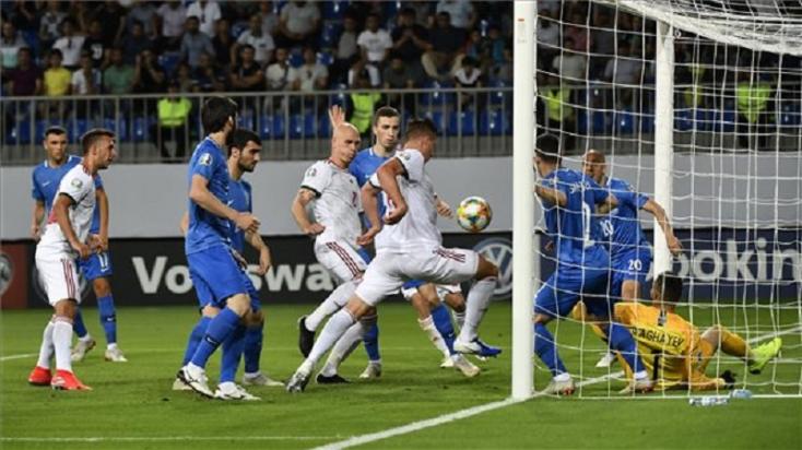 Európa-bajnoki selejtező:Azerbajdzsán - Magyarország 1:3